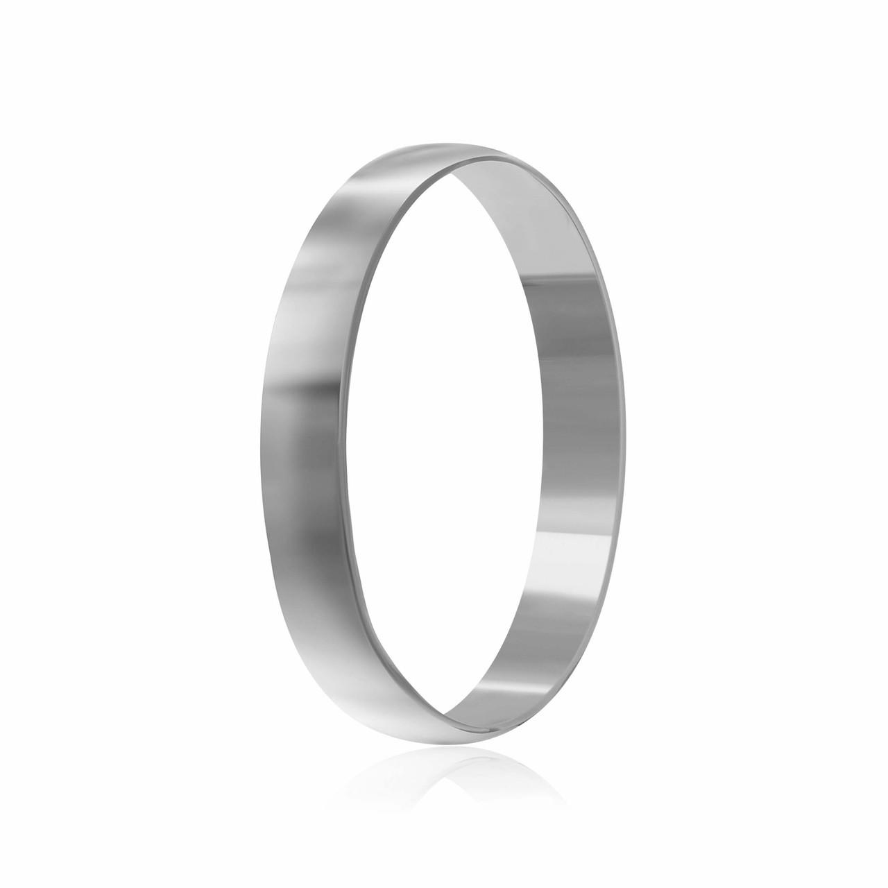 """Обручальное серебряное кольцо """"801"""""""