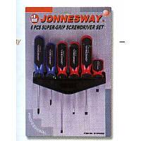 D13PR06S Набор отверток материал АСERON, 6 предметов JONNESWAY