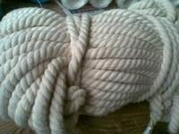 Веревка хлопчатобумажная д.12 мм, фото 1