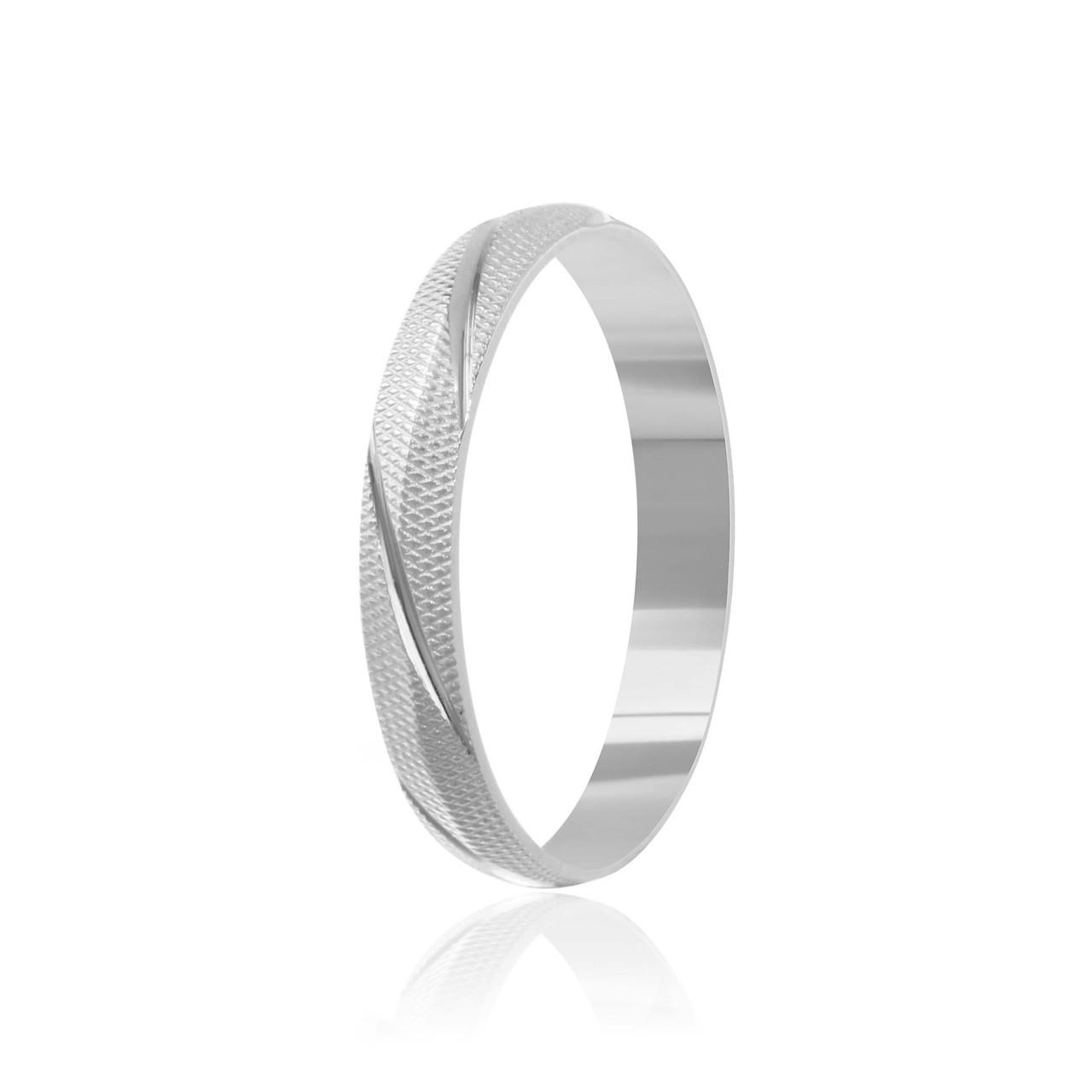 """Обручальное серебряное кольцо """"803"""""""