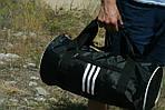 Сумка для спорту унісекс, 21*45*21 см, черн, фото 2