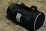 Сумка для спорту унісекс, 21*45*21 см, черн, фото 3