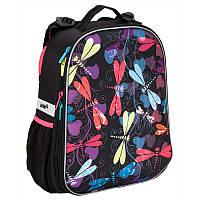 Рюкзак Kite K16-531M-2 Dragonflies школьный каркасный детский для девочек 39x30x16см