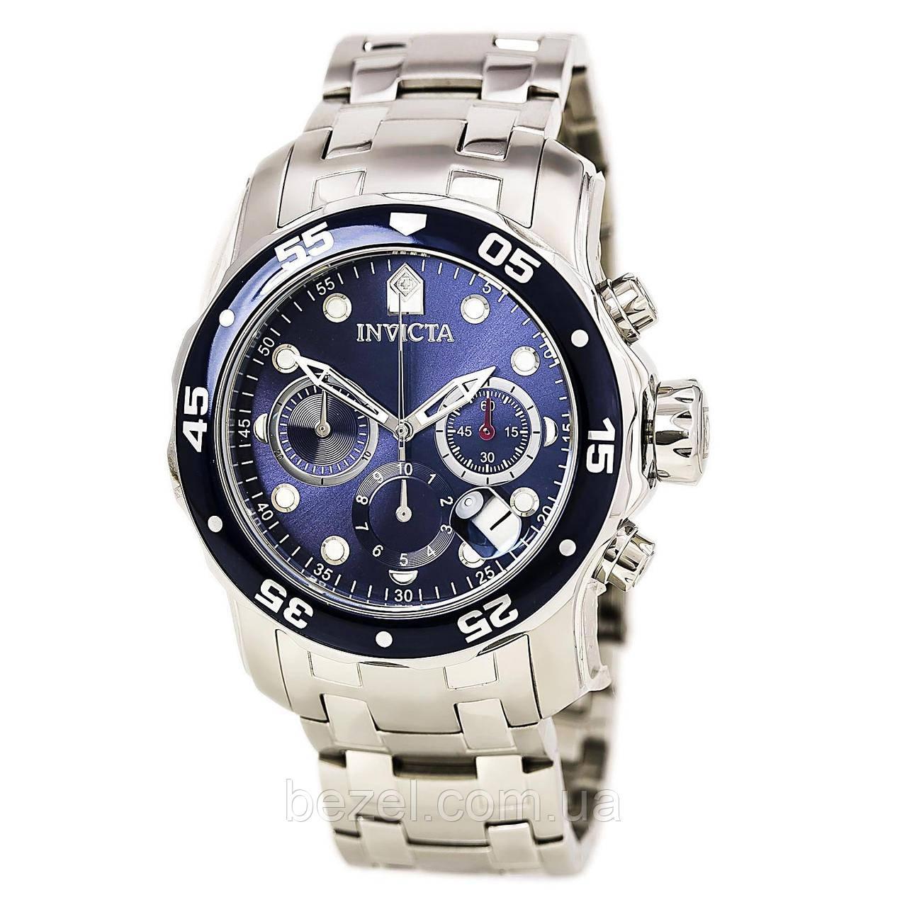 Мужские швейцарские часы INVICTA 0070 Pro Diver Инвикта дайвер  водонепроницаемые швейцарские для дайвинга a067a645d1a