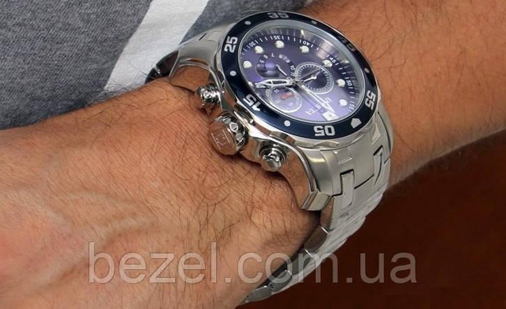 ... Мужские швейцарские часы INVICTA 0070 Pro Diver Инвикта дайвер  водонепроницаемые швейцарские для дайвинга , фото 4 ... 1debc0a14a8