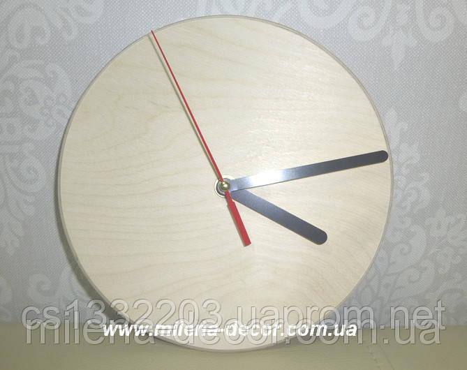 """Заготовка для декупажа """"Часы"""" d=20 см + часовой механизм (прямые стрелки)"""