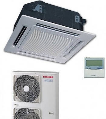 Сплит-система кассетного типа Toshiba 5 кВт(-20) RAV-SM56*UT(P)-E/RAV-SP56*AT(P)-E/ RBC-U31P6(P)-E/RBC-AMS41E, фото 2
