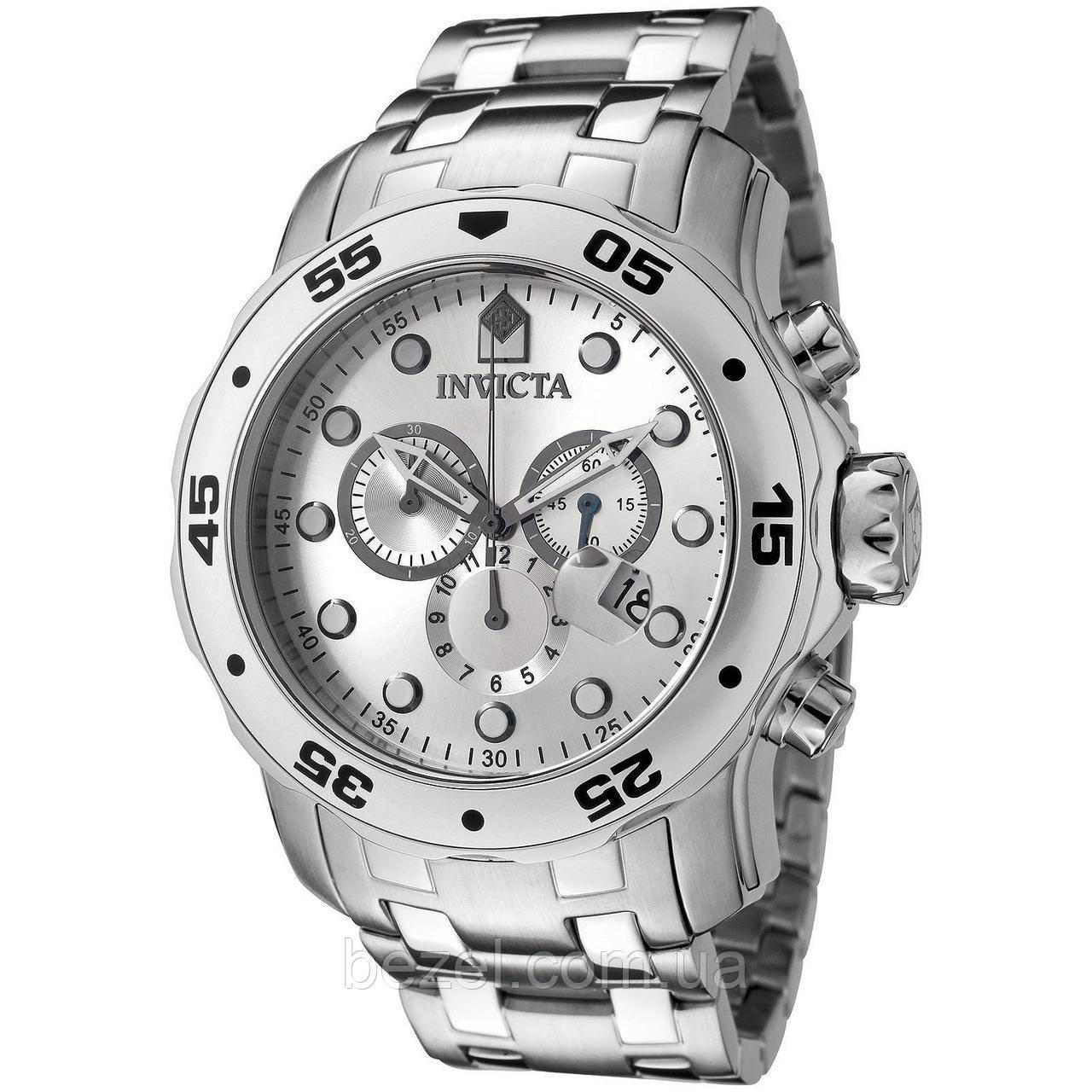Мужские швейцарские часы INVICTA 0071 Pro Diver Инвикта дайвер водонепроницаемые швейцарские для дайвинга