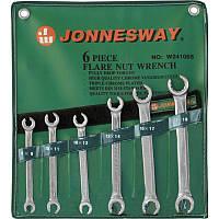 W24106S Набор ключей разрезных 8-19 мм, 6 предметов JONNESWAY