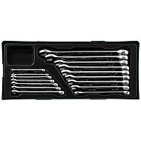 W26116SP Набор комбинированных ключей 6-24 мм, 16 предметов JONNESWAY