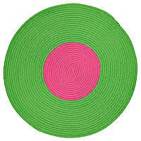 STICKAT Ковры, бахрома, зеленый, розовый