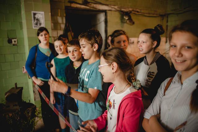 Экскурсия для детей в кузнечную мастерскую. 14