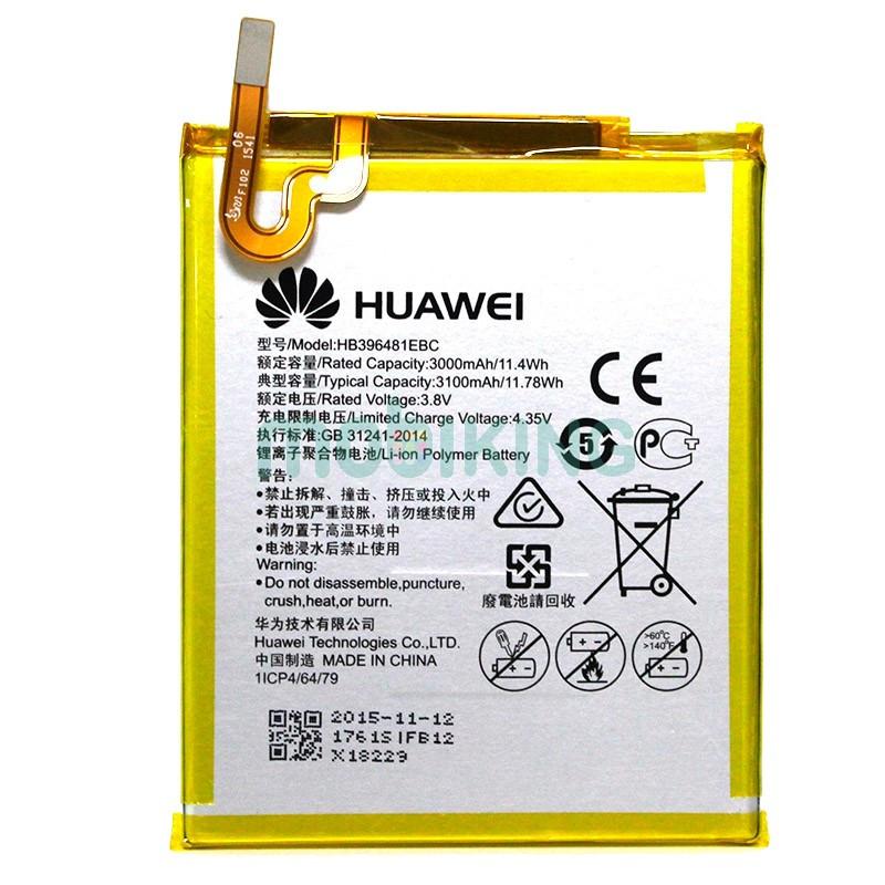 Оригинальная батарея на Huawei Honor 5x (HB396481EBC) для телефона, аккумулятор для смартфона.
