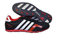 Мужские кроссовки Adidas F2013 03M черные с красным