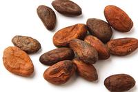 Какао бобы натуральные сырые Гана, 100г.