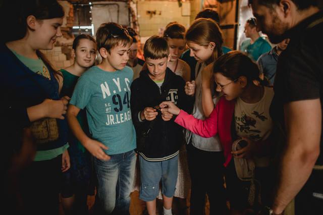 Экскурсия для детей в кузнечную мастерскую. 19