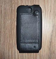 Чехол флип / книжка HTC Desire 310 кожа ILLUSION черная