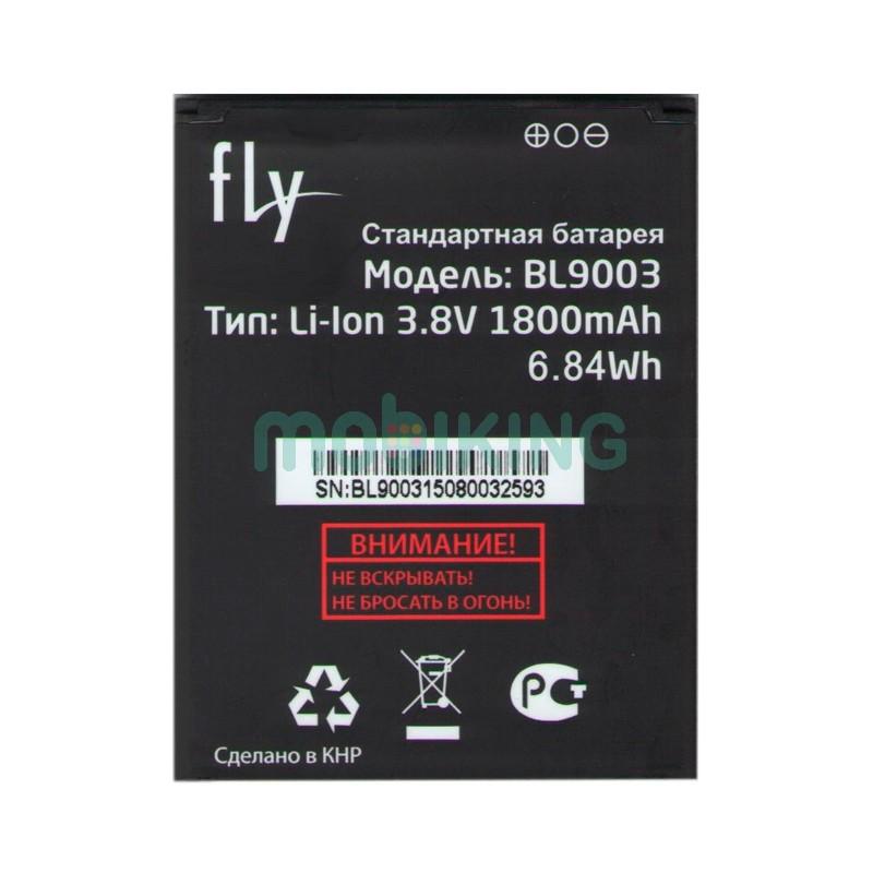 Оригинальная батарея на Fly FS452 (BL9003) для мобильного телефона, аккумулятор для смартфона.