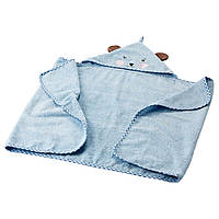 BADET Полотенце детское с капюшоном, светло-голубой