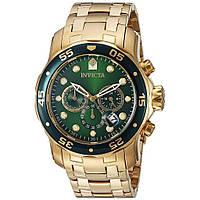 Мужские швейцарские часы INVICTA 0075 Pro Diver Инвикта дайвер водонепроницаемые швейцарские для дайвинга