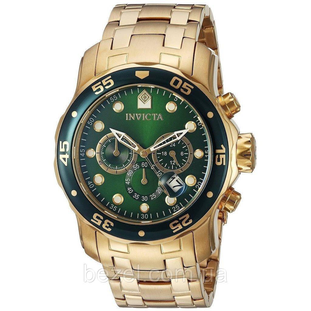 3c32f70f Мужские швейцарские часы INVICTA 0075 Pro Diver Инвикта дайвер  водонепроницаемые швейцарские для дайвинга - BEZEL -