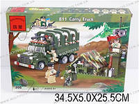 "Конструктор ""Brick - Военный грузовик"" 308 дет., в кор. 34х5х25 /30/(811)"