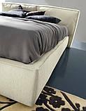 Современная кровать с мягким изголовьем и декоративным кантом FLANN фабрика Ditre Italia, фото 5