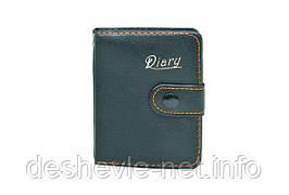 "Блокнот ""Diary"" на кнопке с ручкой А7, 90  листов, клетка,"