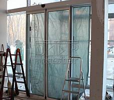 "Автоматические двери Farwill ECOslide. АЗС ""Авиас"" (г. Днепр) 04.02.2014 2"