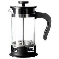 UPPHETTA Zaparzacz кофеварка/чайник, стекло, нержавеющ сталь
