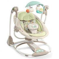 Умное кресло-качалка Bright Starts Мамины обьятия-Букашки (60198)