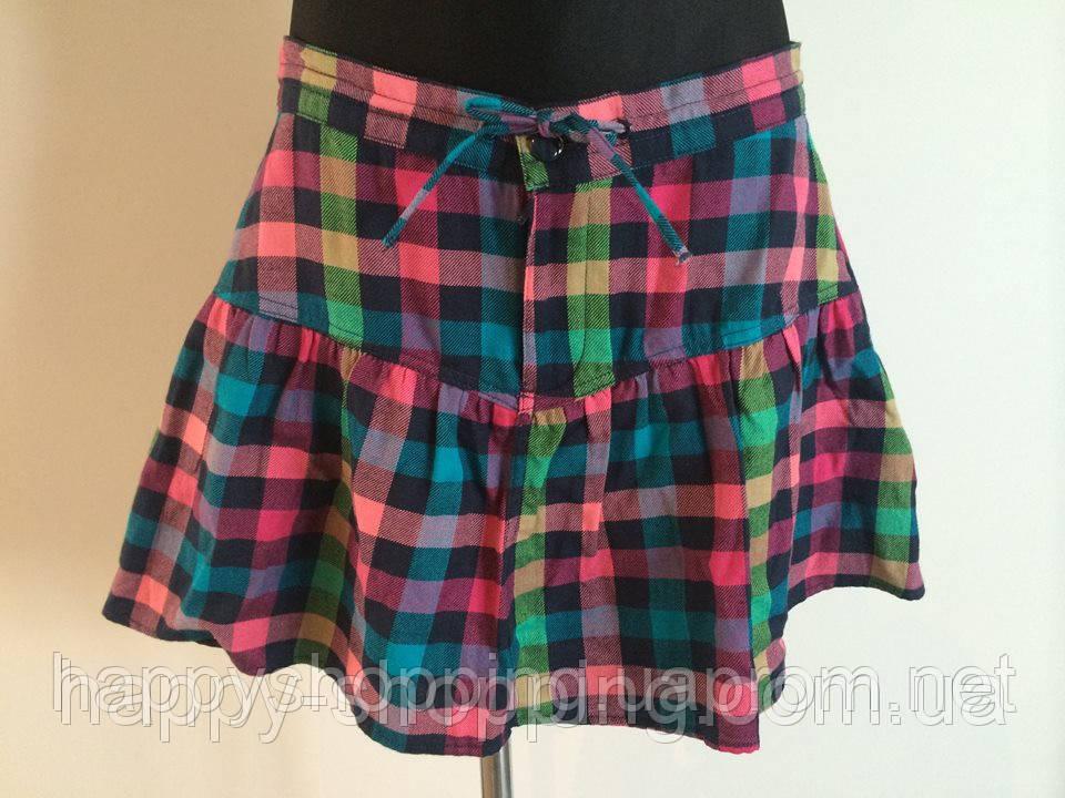 Клетчатая мини юбка H&M