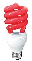 Компактная люминесцентная лампа ERS-02A 26Вт Е27 красная