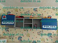 """Полка настенная """" Полиция """" , фото 1"""
