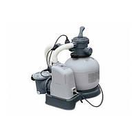 Песочный фильтр-насос с хлор-генератором  Intex (28676)