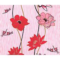 Обои бумажные Эксклюзив 048-04 розовый