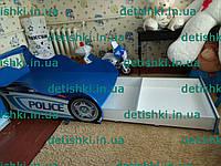 """Кровать машина """" Полиция"""" синяя, фото 1"""