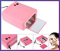 Ультрафиолетовая лампа для наращивания ногтей UV Lamp 36 Watt ZH-818, фото 1