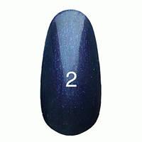 Гель-лак  Kodi 8 мл № 002 темно фиолетовый с перламутром