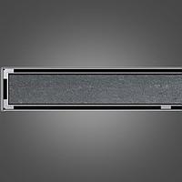 Канал для душа под плитку 78,5 см низкий сифон ACO ShowerDrain C-line горизонтальный фланец