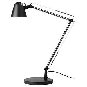 UPPBO Лампа настольная, черный