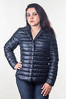 Модная женская черная куртка