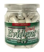 Жевательная резинка в подушечках без сахара Evident с мятой, 125 г.