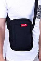 Сумка через плечо PUNCH - Stash, black