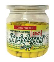 Жевательная резинка в подушечках без сахара Evident лимон с медом, 125 г., фото 1