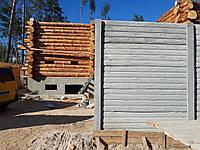 """Двухсторонний еврозабор """"Бревно"""". Полная имитация дерева в бетоне. Доступно, быстро и эстетично"""