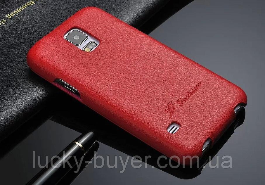 Кожаный чехол-книга Fashion для Samsung Galaxy S5 G900