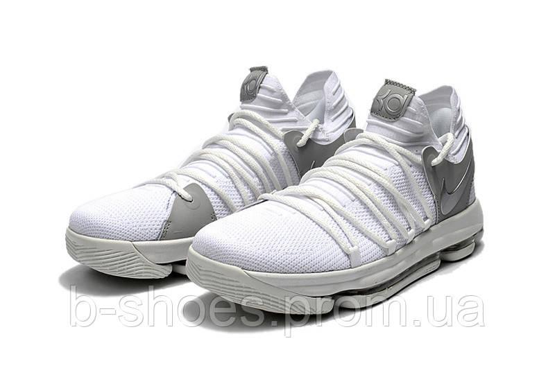 Детские баскетбольные кроссовки Nike KD10 (White)
