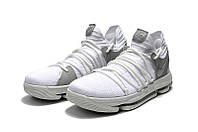 Детские баскетбольные кроссовки Nike KD10 (White), фото 1