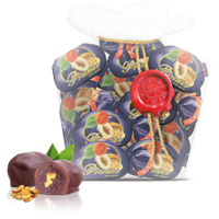 Шоколадные конфеты Чернослив с орехом 0,25 кг т.м. Мария